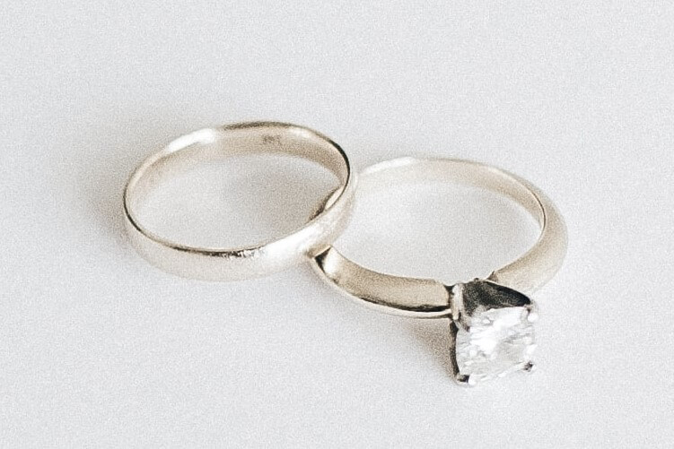 love and marriage ring